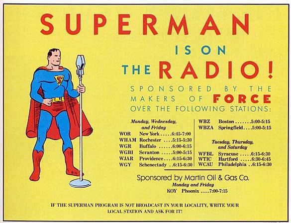 Superman Radio Ad