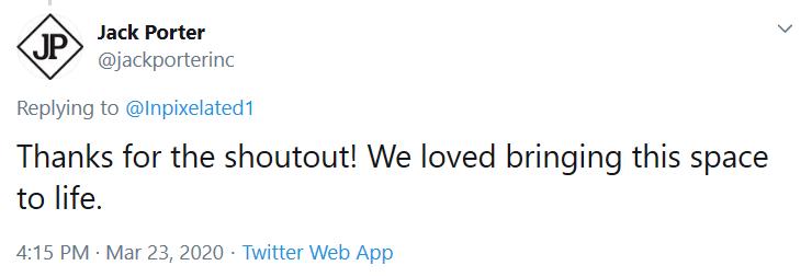 Jack Porter tweet