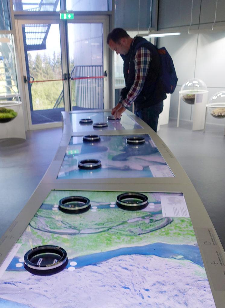 Map exhibit